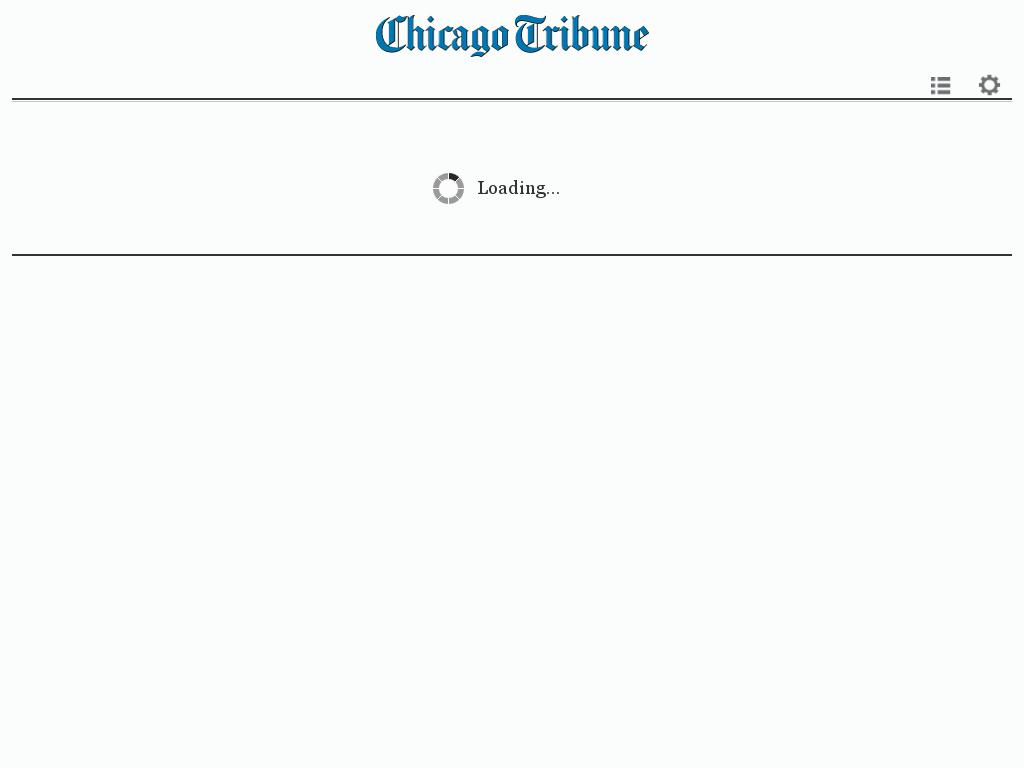 Chicago Tribune at Thursday Feb. 4, 2016, 6:02 a.m. UTC