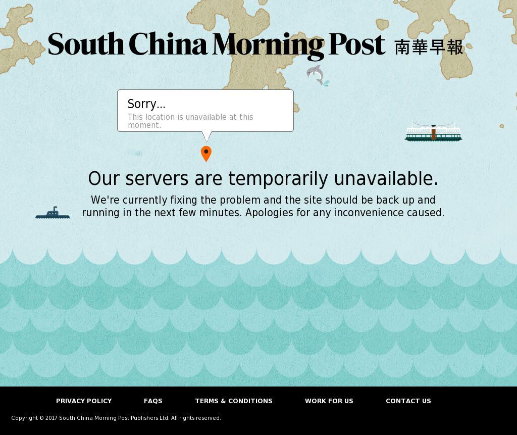 South China Morning Post at Tuesday Oct. 10, 2017, 3:16 p.m. UTC
