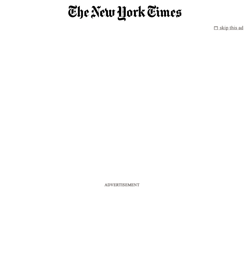 The New York Times at Thursday May 3, 2012, 2:08 a.m. UTC