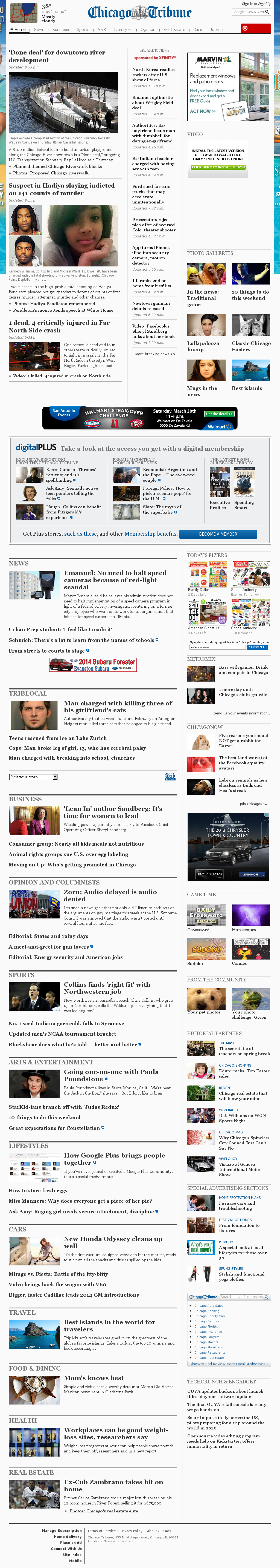 Chicago Tribune at Friday March 29, 2013, 5:03 a.m. UTC