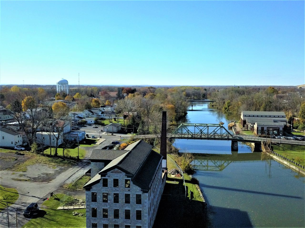 Historic look from above in Seneca Falls (photo)