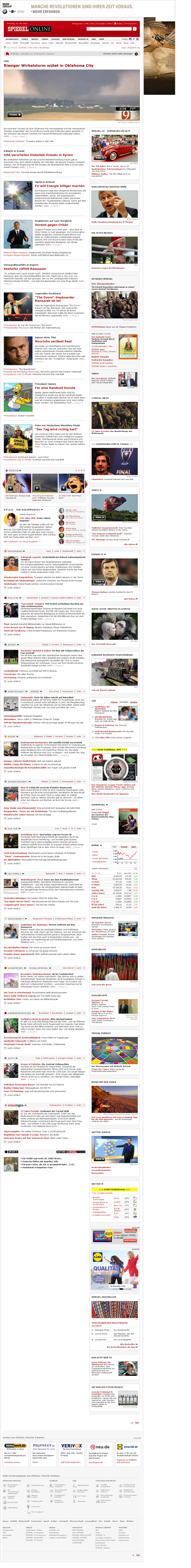 Spiegel Online at Tuesday May 21, 2013, 12:23 a.m. UTC